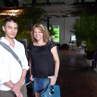 David Teh and Danni Zuvela at BEFF5