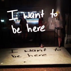Louise Bennett_I want to be here_2014_2